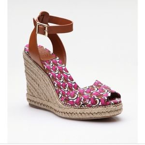 Tory Burch Printed Espadrille